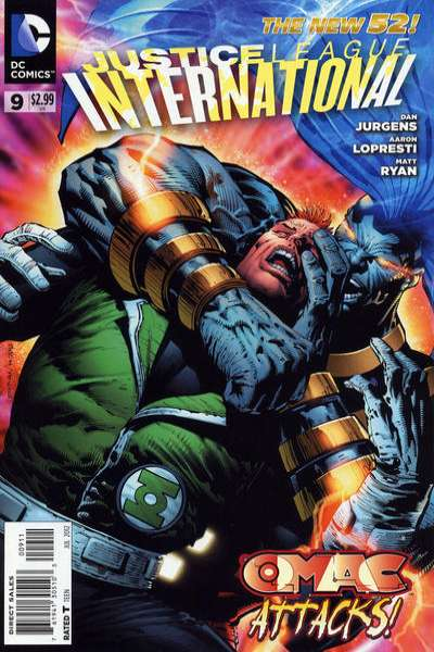 Justice League International #9 comic books - cover scans photos Justice League International #9 comic books - covers, picture gallery