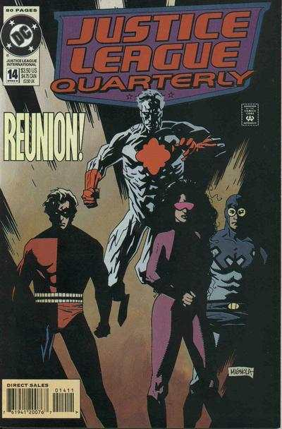 Justice League Quarterly #14 Comic Books - Covers, Scans, Photos  in Justice League Quarterly Comic Books - Covers, Scans, Gallery