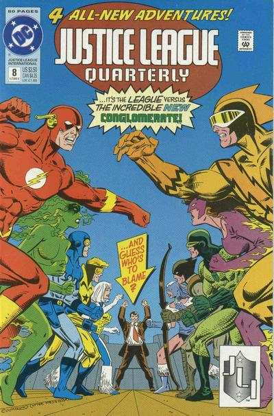 Justice League Quarterly #8 comic books for sale