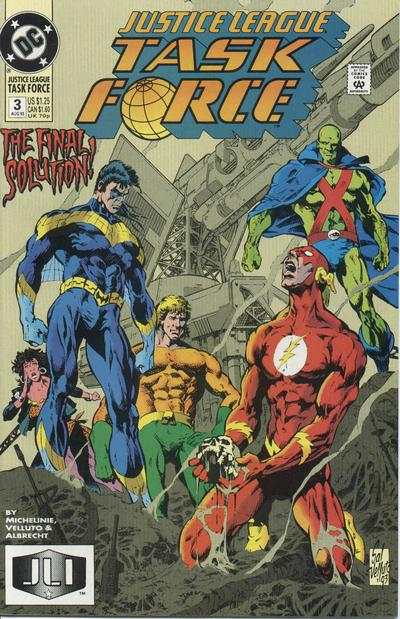 Justice League Task Force #3 Comic Books - Covers, Scans, Photos  in Justice League Task Force Comic Books - Covers, Scans, Gallery