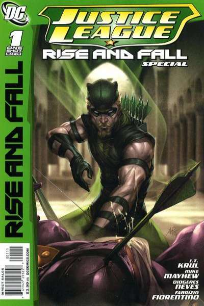 Justice League: The Rise and Fall Special #1 comic books for sale