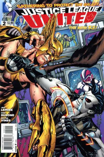 Justice League United #2 Comic Books - Covers, Scans, Photos  in Justice League United Comic Books - Covers, Scans, Gallery