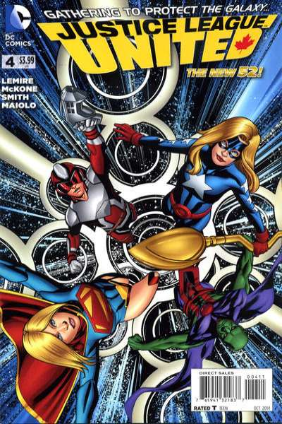 Justice League United #4 Comic Books - Covers, Scans, Photos  in Justice League United Comic Books - Covers, Scans, Gallery