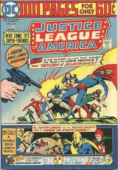 Justice League of America #114 comic books - cover scans photos Justice League of America #114 comic books - covers, picture gallery