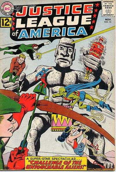 Justice League of America #15 Comic Books - Covers, Scans, Photos  in Justice League of America Comic Books - Covers, Scans, Gallery