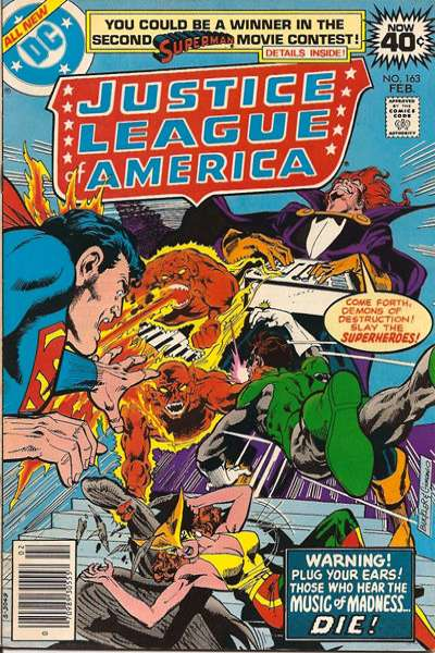 Justice League of America #163 comic books - cover scans photos Justice League of America #163 comic books - covers, picture gallery