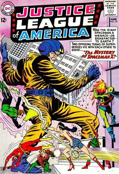 Justice League of America #20 comic books for sale