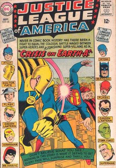 Classic Comic Covers - Page 4 Justiceleagueofamerica38
