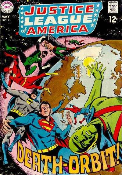 Justice League of America #71 comic books - cover scans photos Justice League of America #71 comic books - covers, picture gallery
