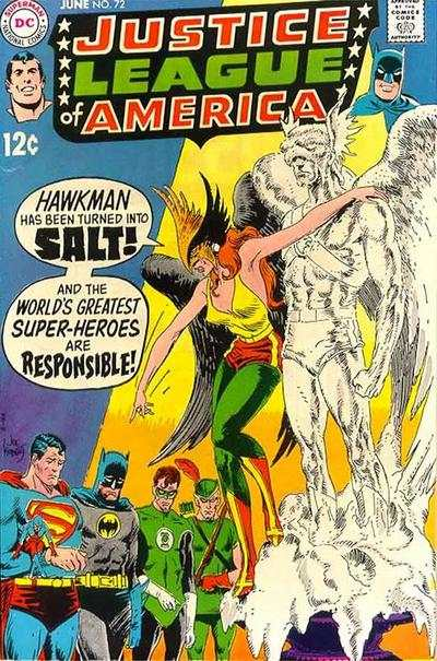 Justice League of America #72 comic books for sale