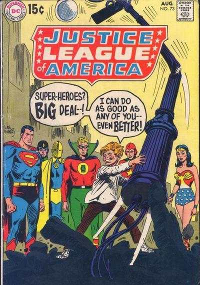 Justice League of America #73 Comic Books - Covers, Scans, Photos  in Justice League of America Comic Books - Covers, Scans, Gallery