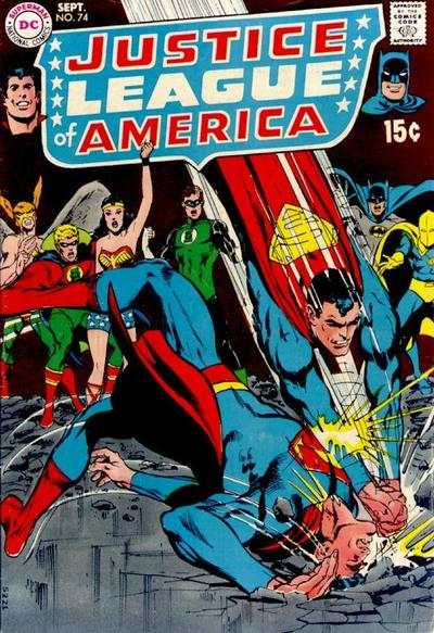 Justice League of America #74 comic books - cover scans photos Justice League of America #74 comic books - covers, picture gallery