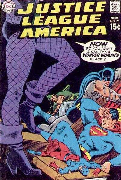 Justice League of America #75 comic books for sale