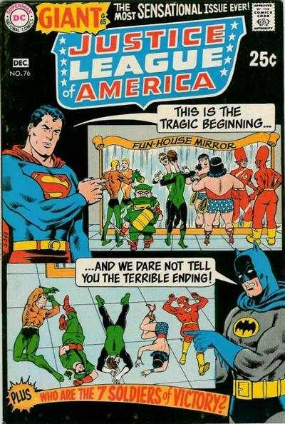 Justice League of America #76 Comic Books - Covers, Scans, Photos  in Justice League of America Comic Books - Covers, Scans, Gallery
