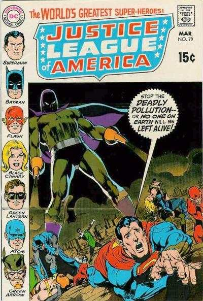 Justice League of America #79 comic books - cover scans photos Justice League of America #79 comic books - covers, picture gallery