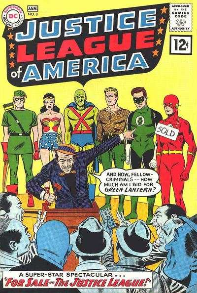 Justice League of America #8 comic books - cover scans photos Justice League of America #8 comic books - covers, picture gallery