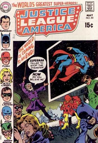 Justice League of America #80 comic books - cover scans photos Justice League of America #80 comic books - covers, picture gallery