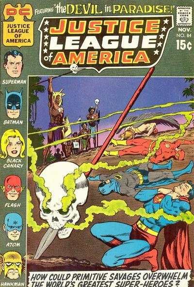 Justice League of America #84 comic books - cover scans photos Justice League of America #84 comic books - covers, picture gallery