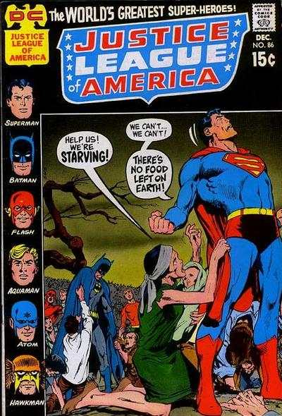 Justice League of America #86 comic books - cover scans photos Justice League of America #86 comic books - covers, picture gallery