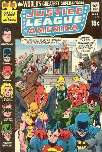 Justice League of America #88 comic books for sale