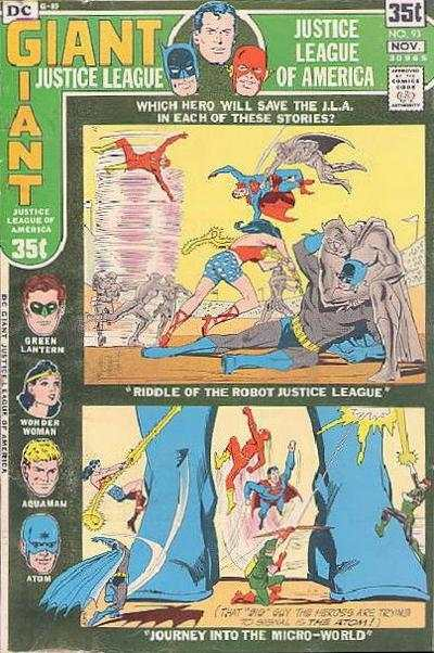 Justice League of America #93 comic books for sale