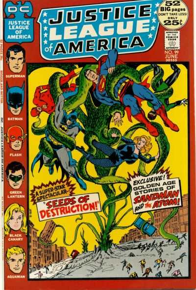 Justice League of America #99 comic books for sale