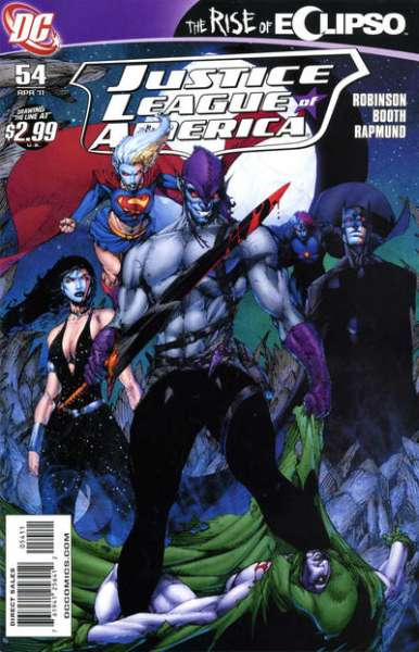 Justice League of America #54 comic books - cover scans photos Justice League of America #54 comic books - covers, picture gallery