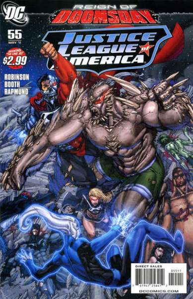 Justice League of America #55 comic books for sale
