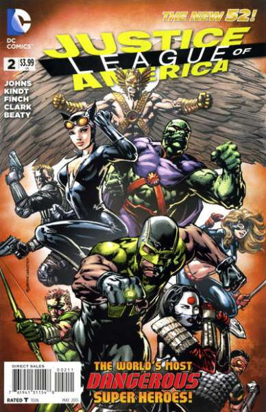 Justice League of America #2 comic books for sale