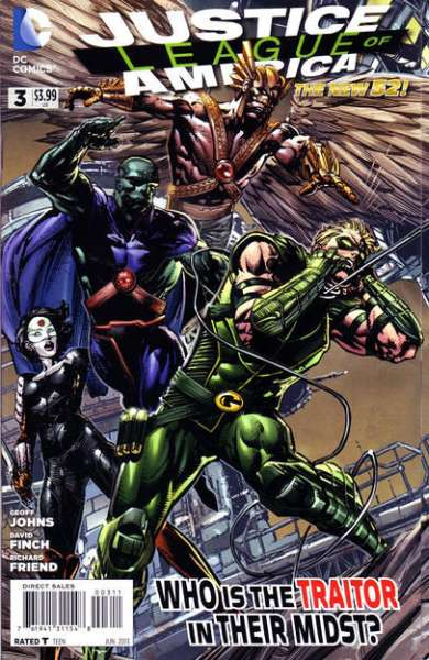 Justice League of America #3 comic books for sale