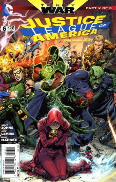Justice League of America #6 comic books - cover scans photos Justice League of America #6 comic books - covers, picture gallery