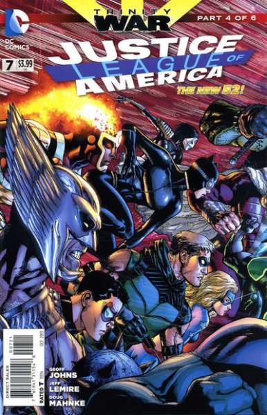 Justice League of America #7 comic books - cover scans photos Justice League of America #7 comic books - covers, picture gallery