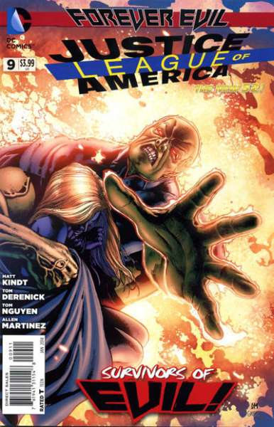 Justice League of America #9 comic books - cover scans photos Justice League of America #9 comic books - covers, picture gallery