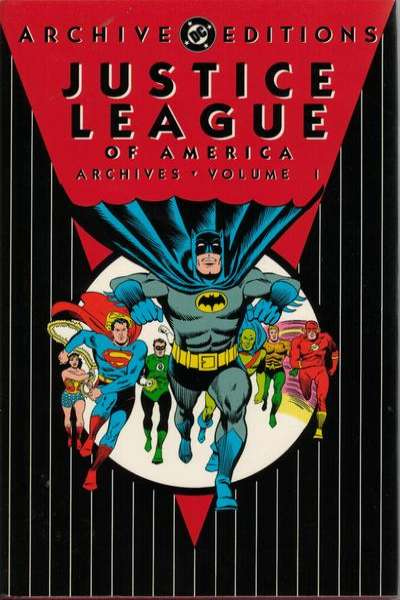 Justice League of America Archives - Hardcover comic books