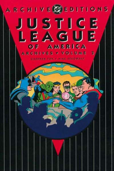 Justice League of America Archives - Hardcover #3 comic books for sale
