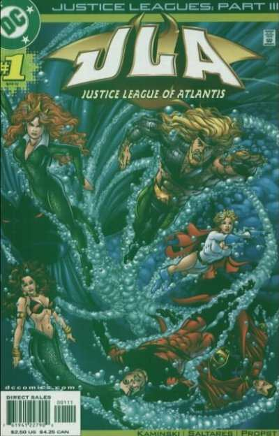 Justice Leagues.... #1 comic books for sale