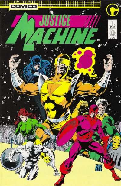 Justice Machine #3 comic books for sale