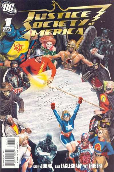 Justice Society of America comic books