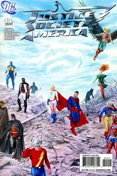 Justice Society of America #14 comic books for sale