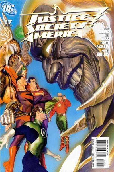 Justice Society of America #17 comic books for sale