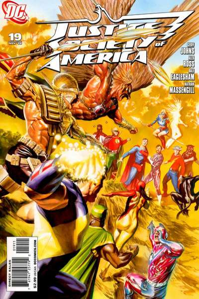 Justice Society of America #19 comic books for sale