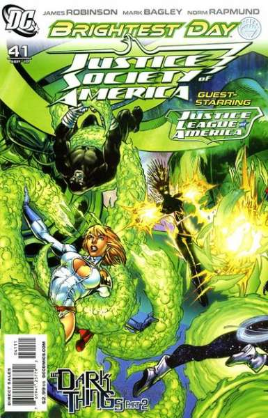 Justice Society of America #41 comic books - cover scans photos Justice Society of America #41 comic books - covers, picture gallery