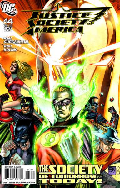 Justice Society of America #44 comic books - cover scans photos Justice Society of America #44 comic books - covers, picture gallery