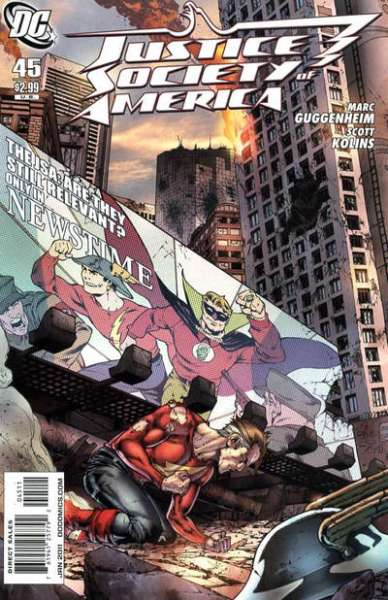 Justice Society of America #45 comic books for sale