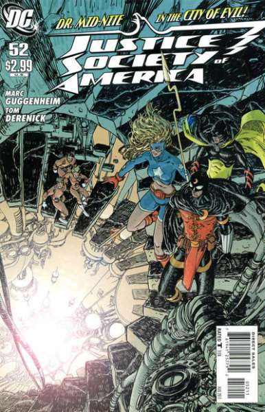 Justice Society of America #52 comic books - cover scans photos Justice Society of America #52 comic books - covers, picture gallery
