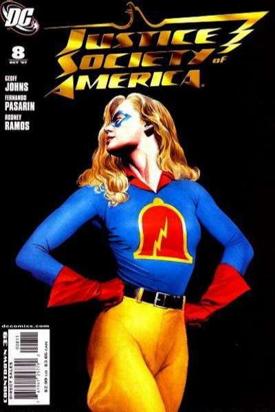 Justice Society of America #8 comic books for sale