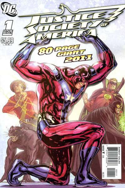 Justice Society of America #2011 comic books for sale