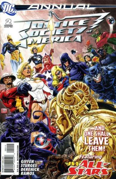 Justice Society of America #2 comic books for sale