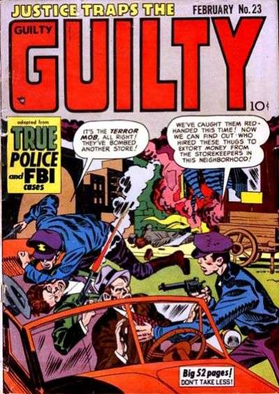 Justice Traps the Guilty #23 comic books for sale
