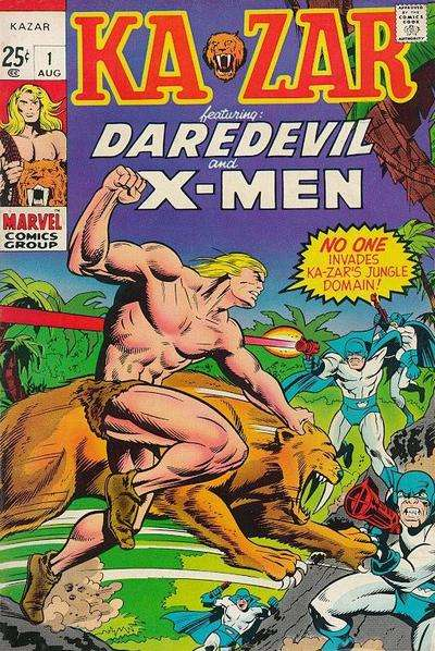 Ka-Zar Comic Books. Ka-Zar Comics.